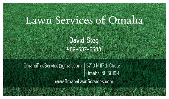 Lawn Services of Omaha - Nebraska